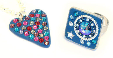 Swarovski Ceralun example jewellery