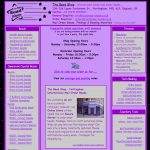 The Bead Shop - First website and Parliament Street Shop