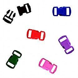 Paracord Bracelet Clasps 12mm Assorted Colours