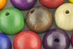 18mm Wood Beads