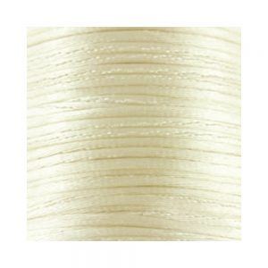 1mm Cream Satin Cord (Rattail)