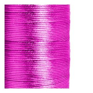1mm Fuchsia Satin Cord (Rattail)