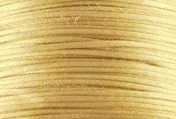 1mm Gold Satin Cord (Rattail)