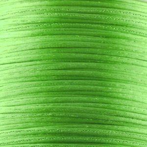 1mm Bright Green Satin Cord (Rattail)