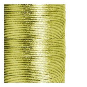 1mm Olive Satin Cord (Rattail)