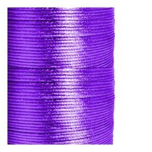 1mm Purple Satin Cord (Rattail)