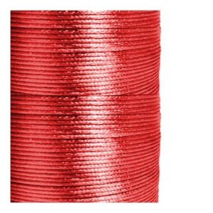 1mm Red Satin Cord (Rattail)