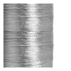 1mm Silver Satin Cord (Rattail)
