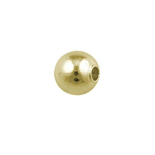2.5mm Spacer Bead Gold Plated