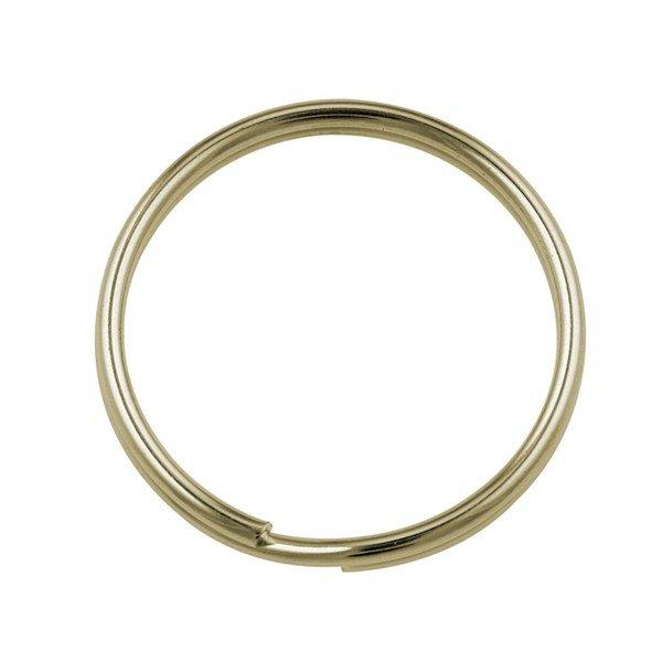 25mm Split Rings Gold Plated