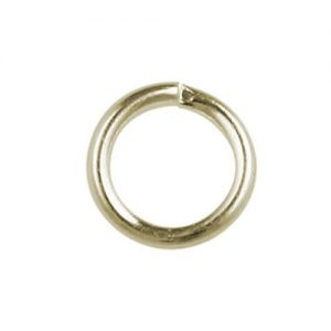 4mm Jump Ring Gold Plated