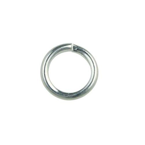 4mm Jump Ring Silver Plated