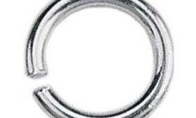 4mm Sterling Silver Jump Ring
