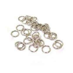 5.5mm Jump Ring Antique Silver