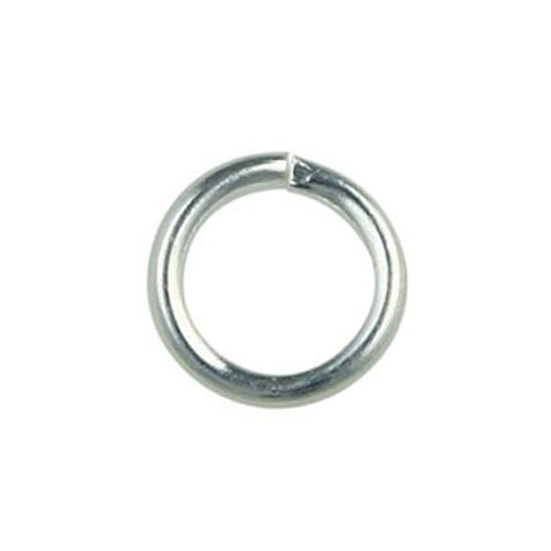 5mm Jump Ring Silver Plated