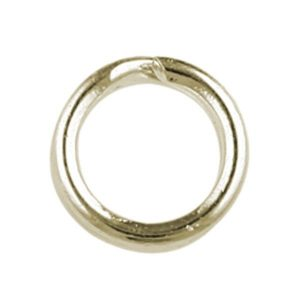 5mm Split Rings Gold Plated