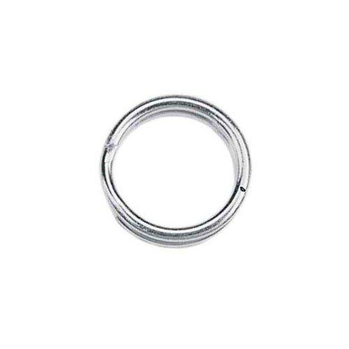 5mm Split Rings Silver Plated