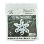Snowflake Kit White Opal 5mm