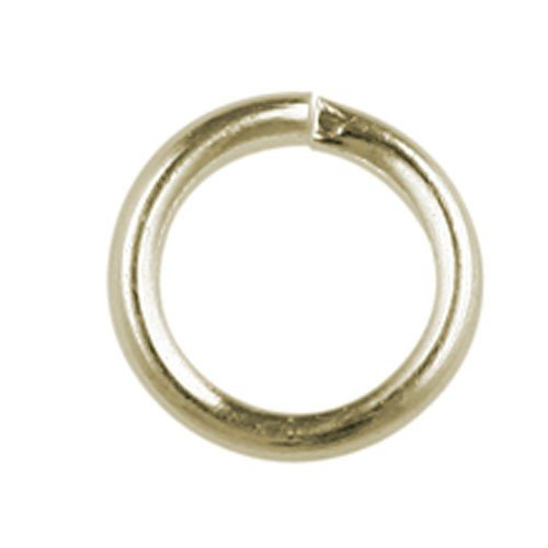 6mm Jump Ring Gold Plated