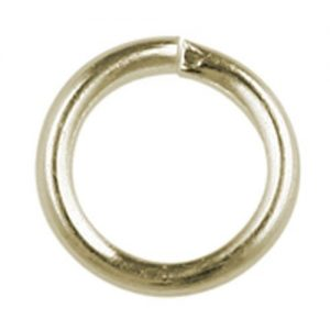 8mm Jump Ring Gold Plated