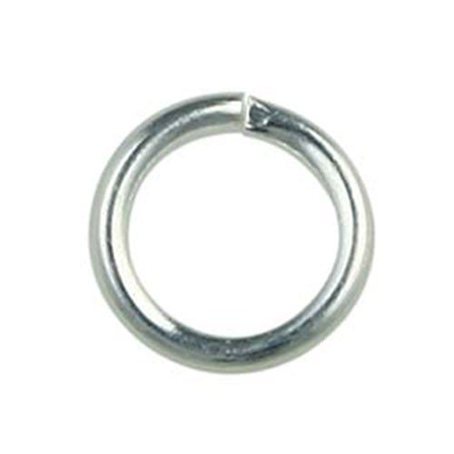 8mm Jump Ring Silver Plated