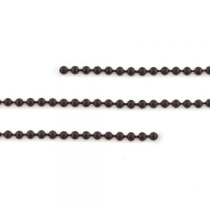 Ball Chain Matte Black