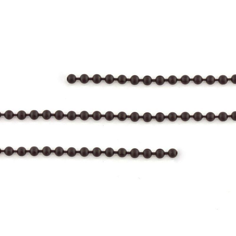 Ball Chain Matte Black