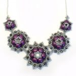 Candy Bead Rosette Necklace Kit