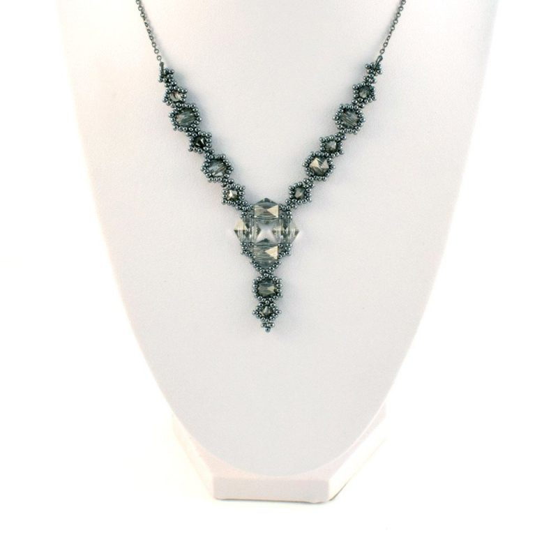 Swarovski Hexi Necklace in Classic Colourway