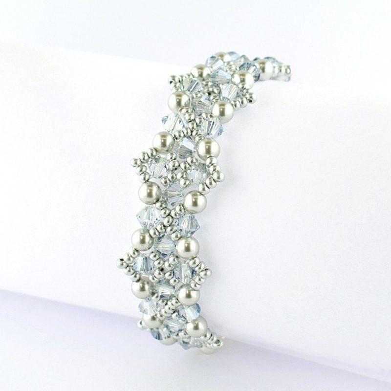 Criss-Cross Bracelet Kit - Cool Silver