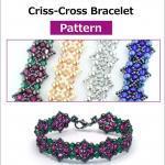 Criss-Cross Bracelet - Pattern