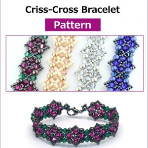 Criss-Cross Bracelet - Pattern