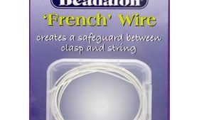 French Wire Silver Plated