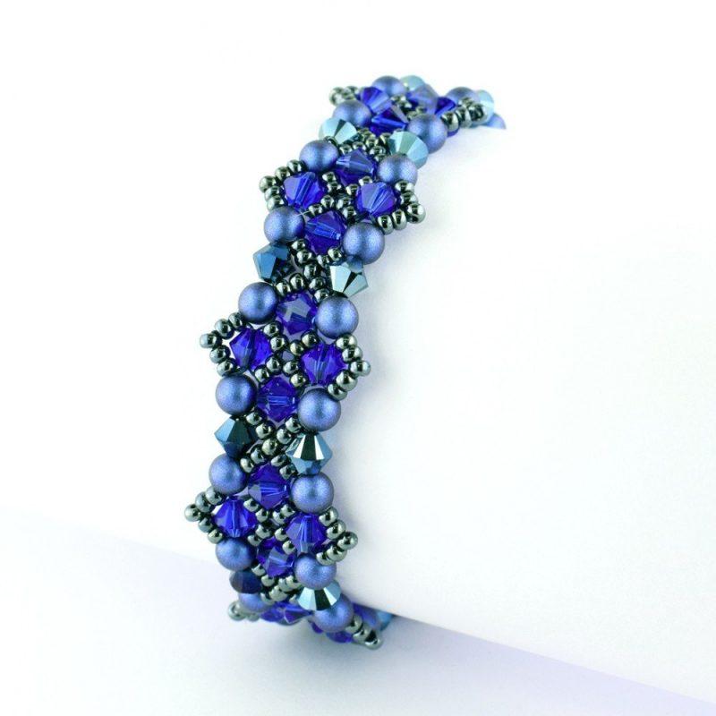 Criss-Cross Bracelet Kit - Majestic Blue