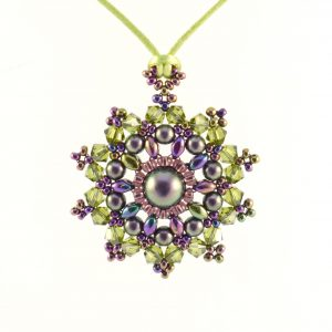 Mandala Pendant Necklace Kit - Autumn