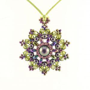 Mandala Pendant Necklace Kit - Autumn