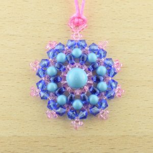 Mandala Pendant Necklace Kit - Bright