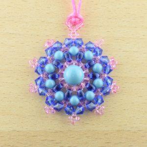 Mandala Pendant Necklace Kit - Bright