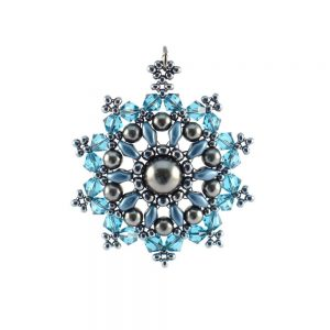 Mandala Pendant Necklace Kit - Classic Teal
