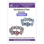 Quadrilateral Duet Bracelet - Pattern