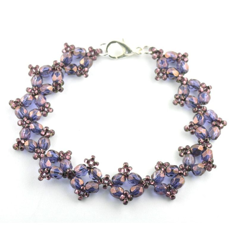 RAW Embellished Bracelet Kit - Purple