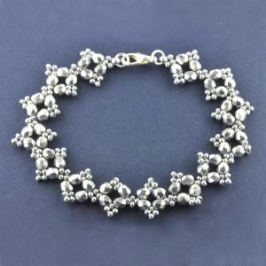 RAW Embellished Bracelet Kit - Silver