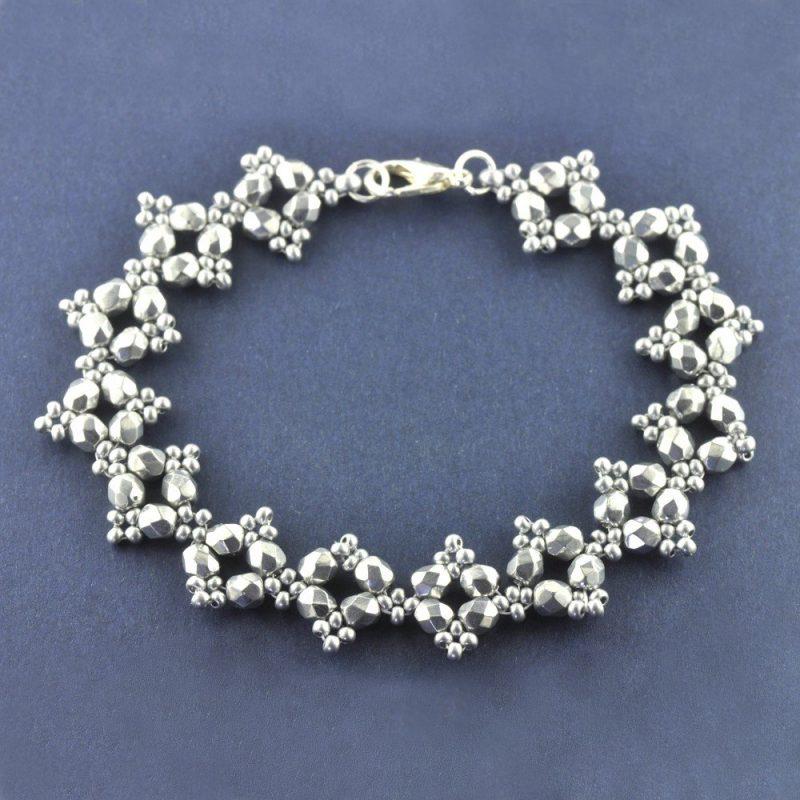 RAW Embellished Bracelet Kit - Silver