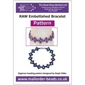 RAW Embellished Bracelet - Pattern