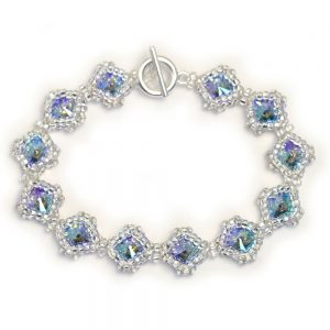 Netted Rivoli Diamond Bracelet Kit - Paradise Shine