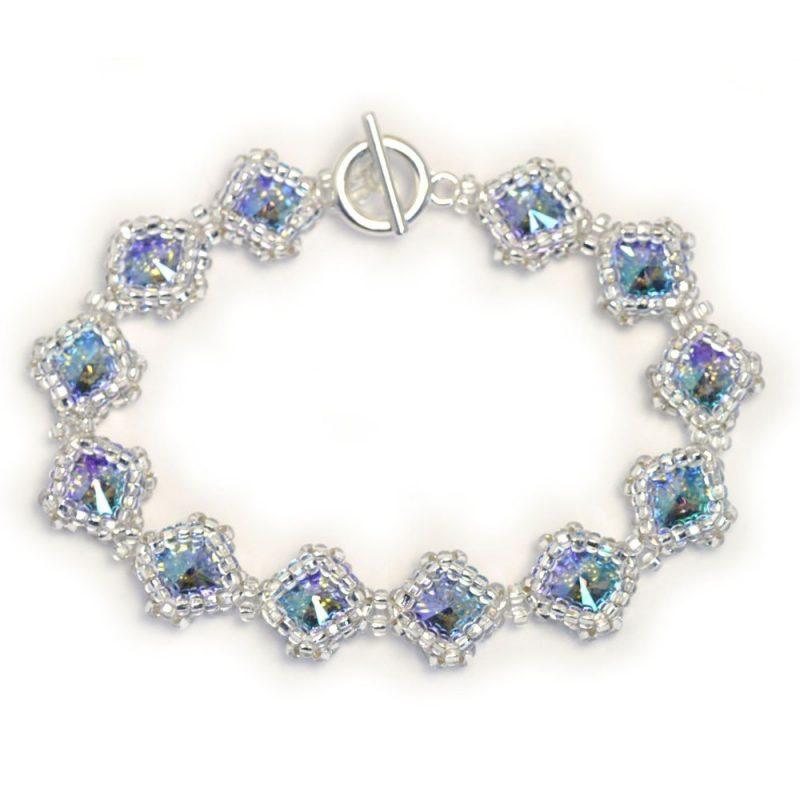Netted Rivoli Diamond Bracelet Kit - Paradise Shine