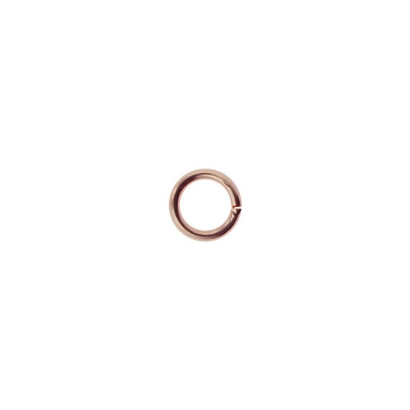 5mm Jump Ring Rose Gold
