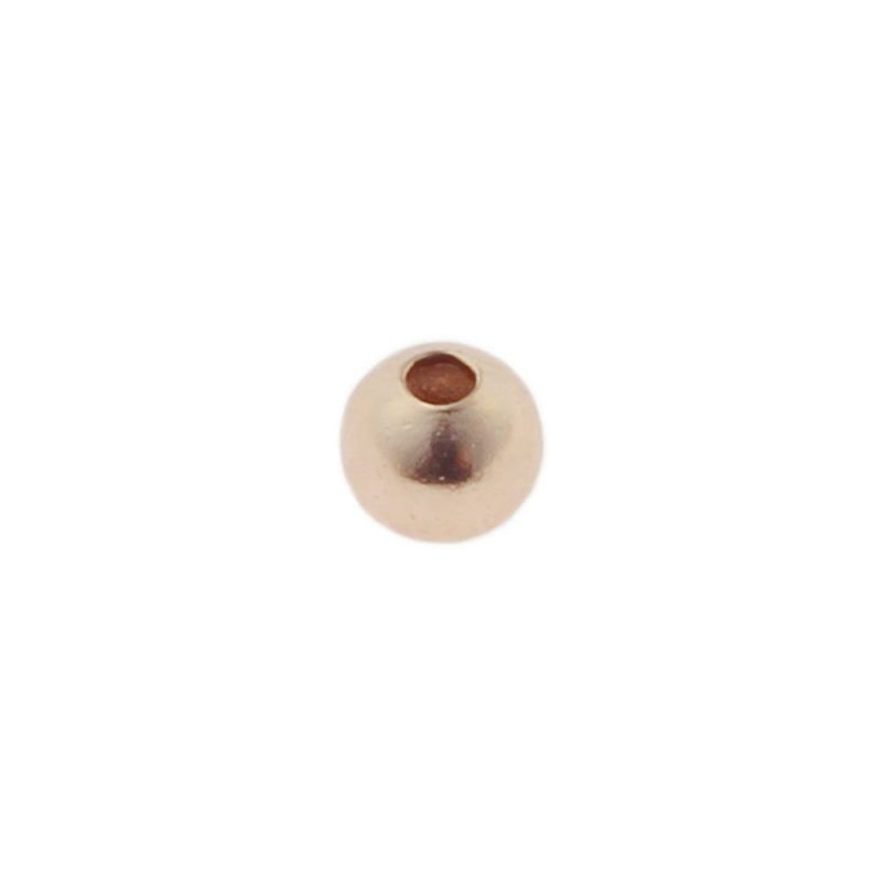 2.5mm Spacer Bead Rose Gold