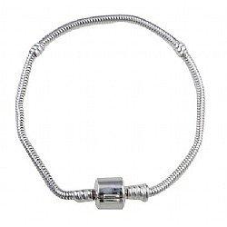 Pandora Style Sterling Silver Charm Bracelet 19cm*