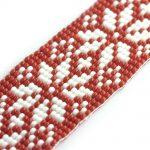 Scandi Snowflake Bead Loom Bracelet Kit